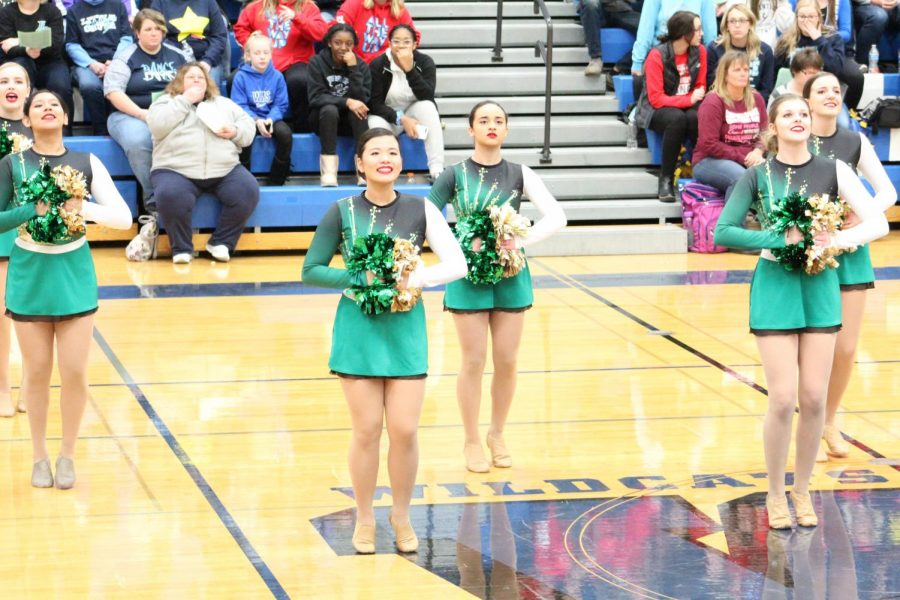 Dance team takes 5th place at Wildcat Invite
