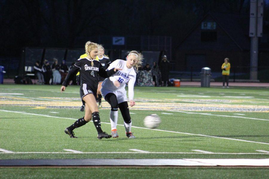 Girls soccer battles Appleton West