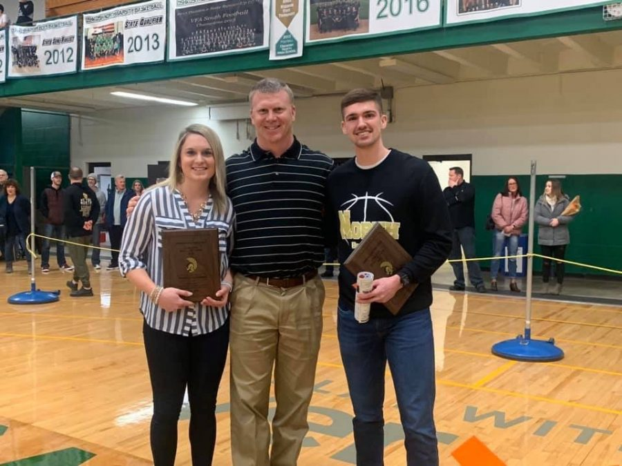 Schamens, Geisthardt inducted into athletic hall of fame