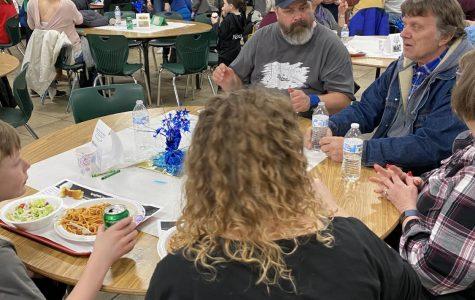 Communities hosts spaghetti dinner