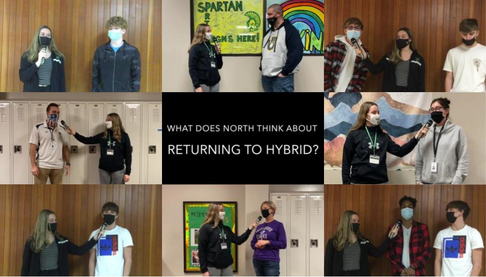 North opinions on returning to hybrid