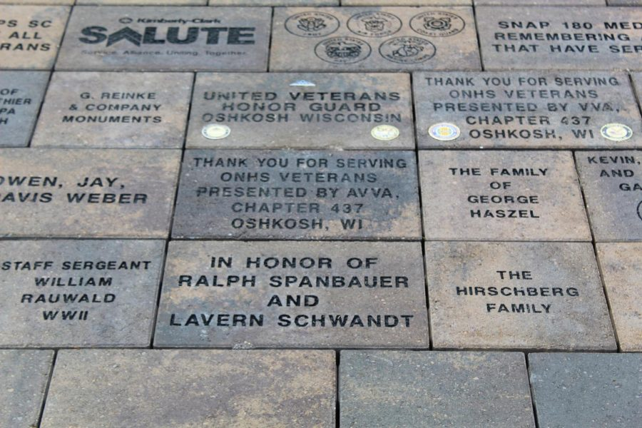 Communities dedicates courtyard to veterans